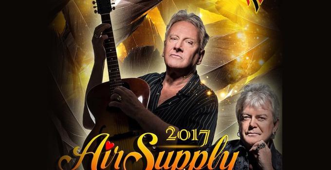 Air supply世界巡回演唱会中国站11月将启动
