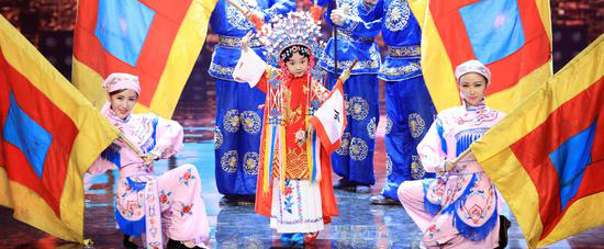 《拜见小师父》6岁梨园小弟子演唱豫剧经典选段