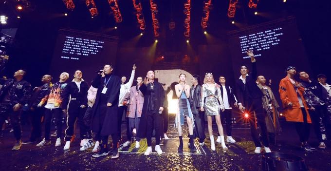 嘻哈全球巡回演唱会北京首站圆满落幕