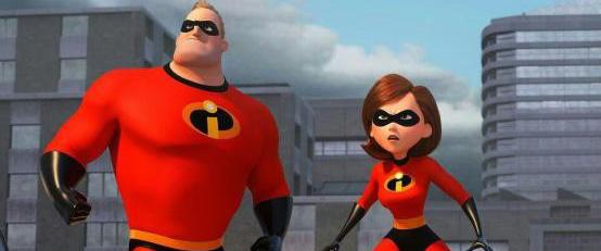 动漫电影《超人总动员2》公布电影剧照