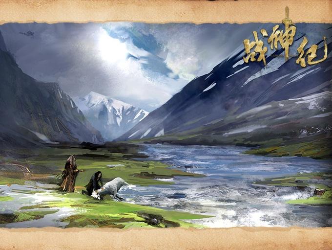 《战神纪》六大场景原画曝光 打造东方传奇