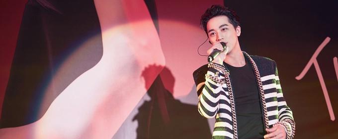 许魏洲第二张个人专辑《THE TIME》发布会台湾举行