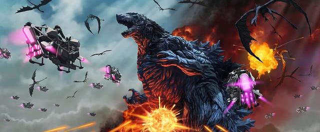 动画电影《哥斯拉 怪兽行星》官方公开光碟发售详情