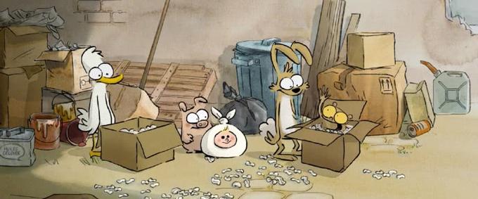动画喜剧电影《大坏狐狸的故事》发布终极海报及剧照