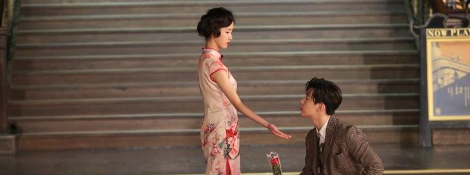 《如果爱·为爱同行》陈都灵刘宪华牵手共舞华尔兹
