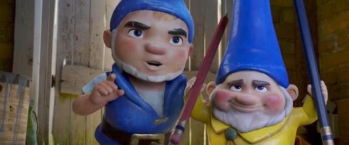 动漫电影《吉诺密欧与朱丽叶2:夏洛克·糯尔摩斯》新预告公开