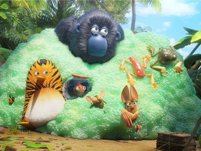 《虎皮萌企鹅》上映被评最值得观看的合家欢电影