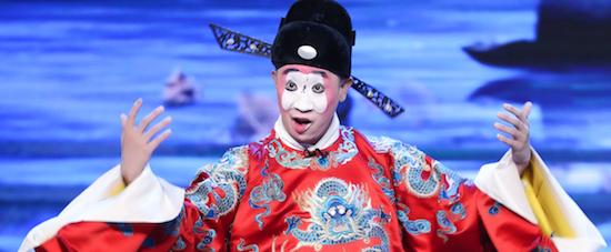 《传承中国》热播 余少群白凯南挑战张派名剧