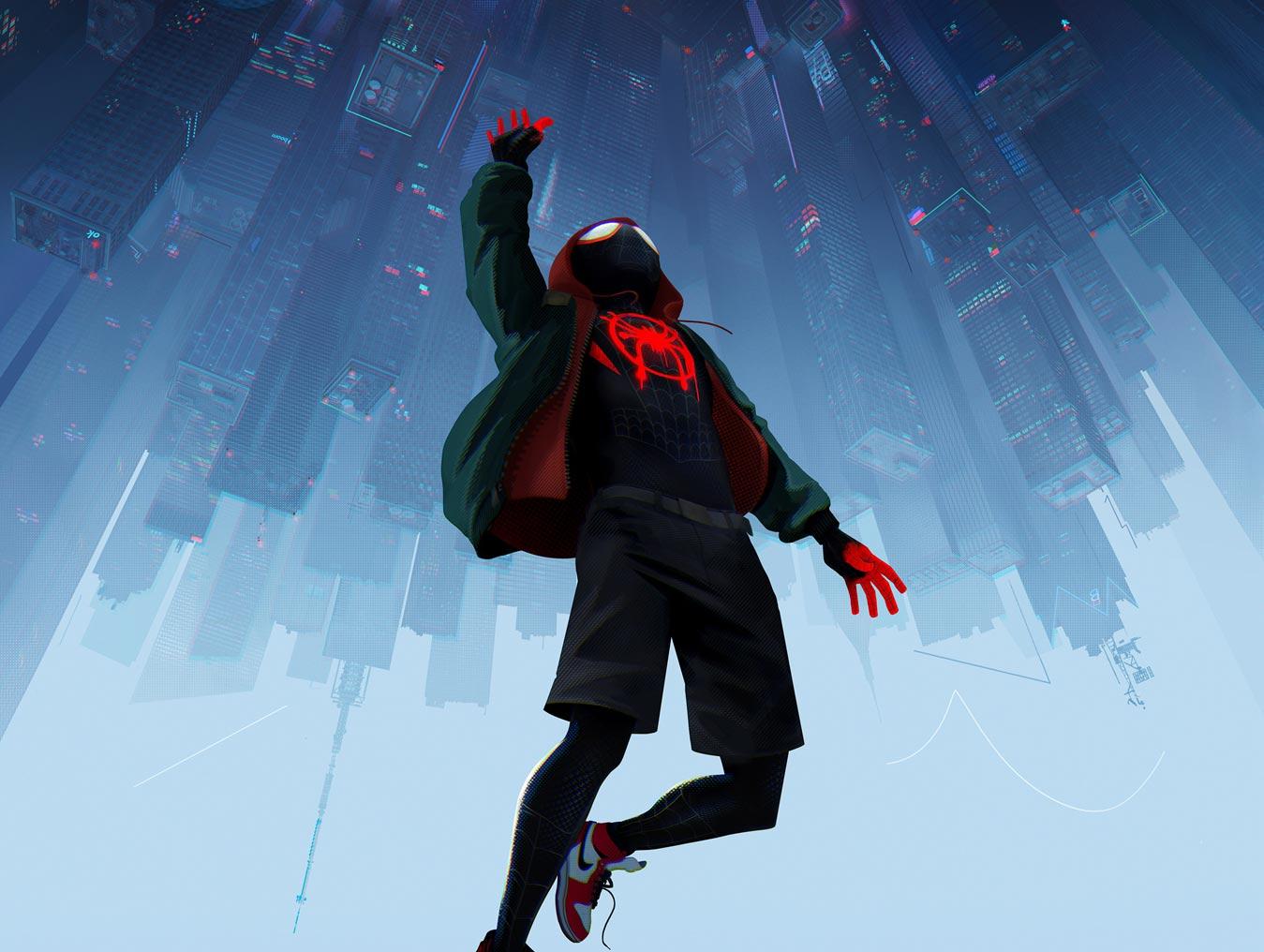 《蜘蛛侠:新纪元》预告曝光 三位蜘蛛侠首度银幕同框