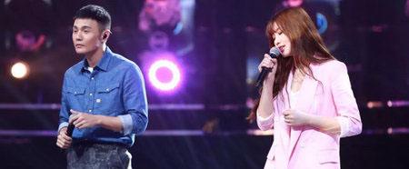 《嗨,唱起来》第七期印子月与李荣浩完美合唱