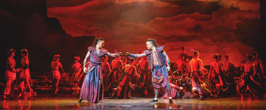 音乐剧《爱如星火》在中央民族剧院公演