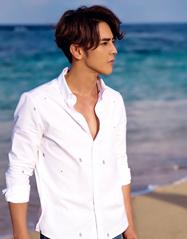 汪东城夏日海边写真曝光 阳光下健康有型