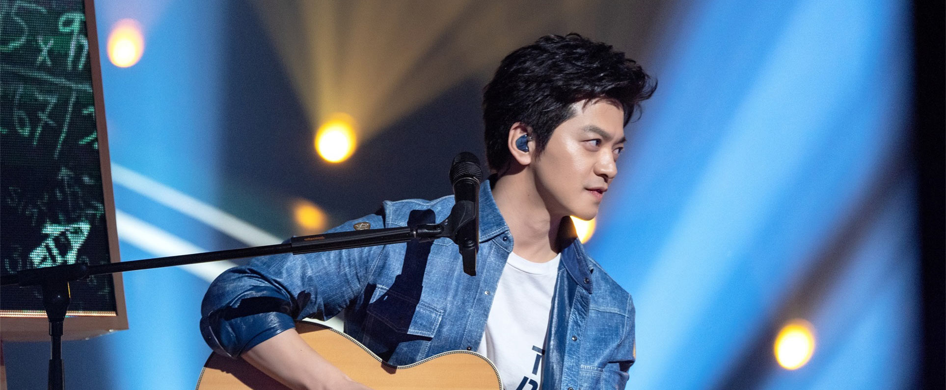 《中国好声音》李健吉他弹出琵琶音色惊艳四座
