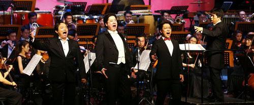 天津歌舞剧院歌剧团在北京民族文化宫上演音乐会