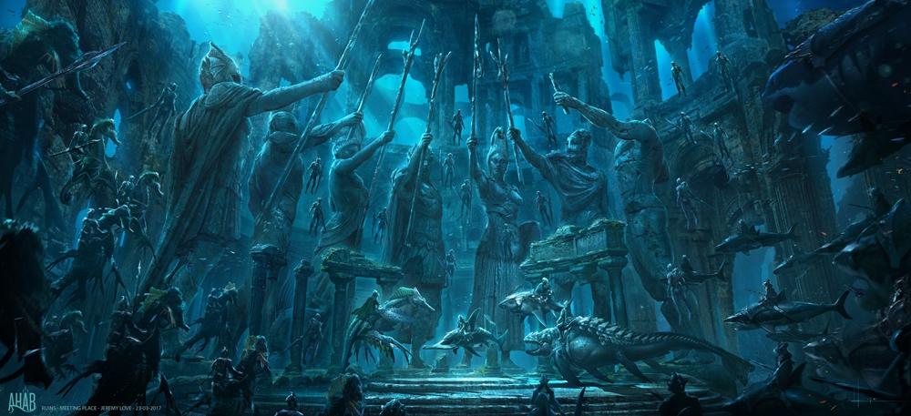 电影《海王》全球首款预告尽显霸气