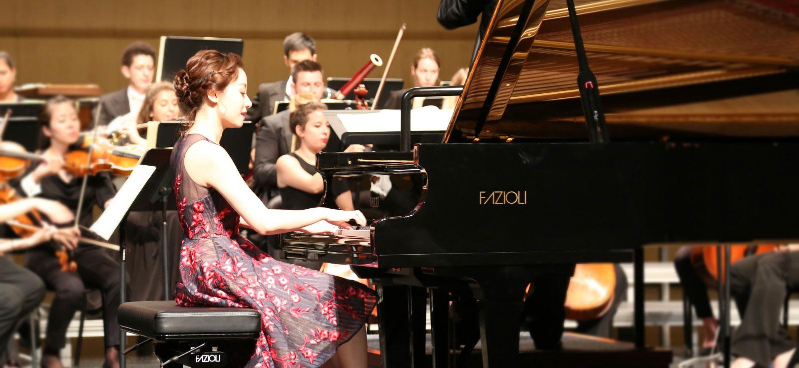 钢琴家印芝音乐之旅厦门正式收官