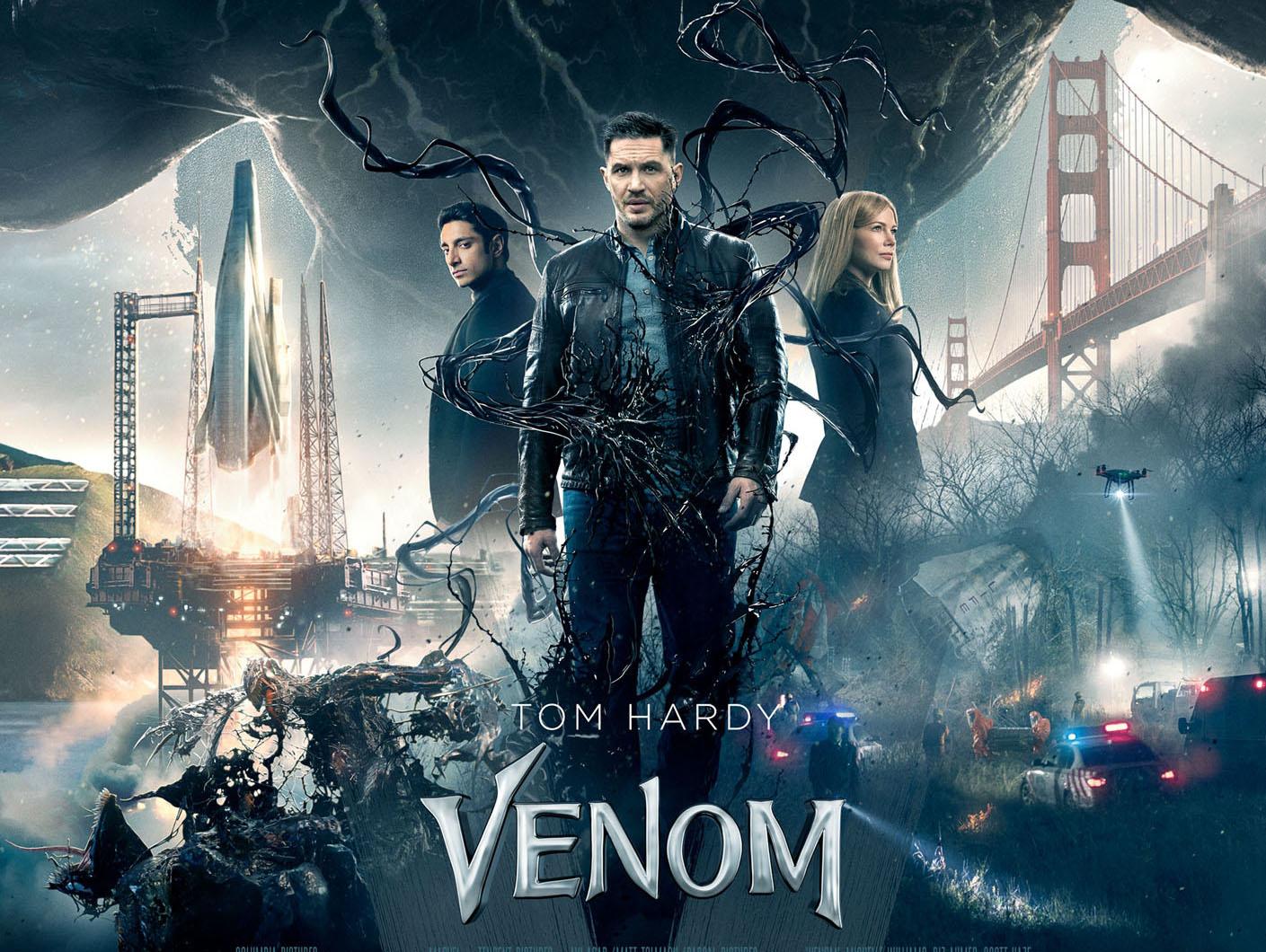 《毒液:致命守护者》北美公映亚洲登顶人气王