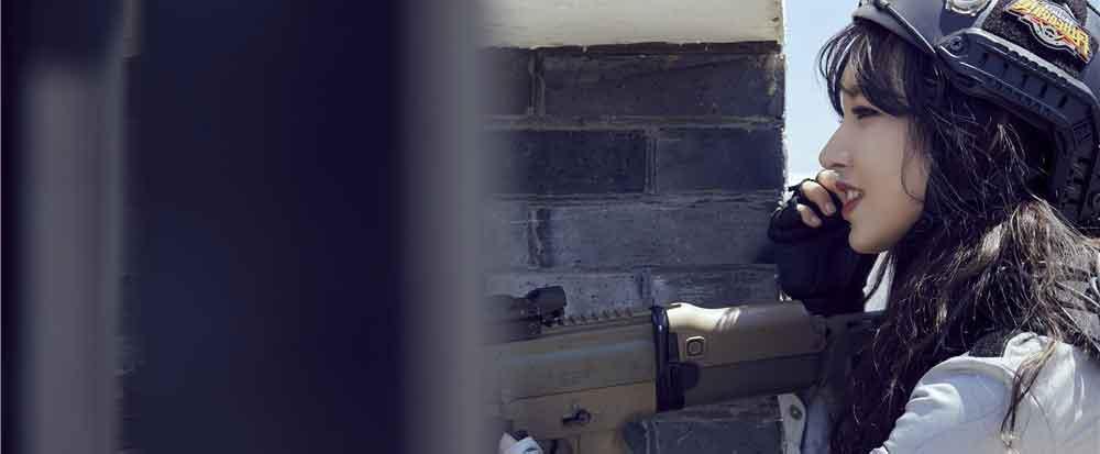 《勇敢的世界》陈乔恩上演高空射击