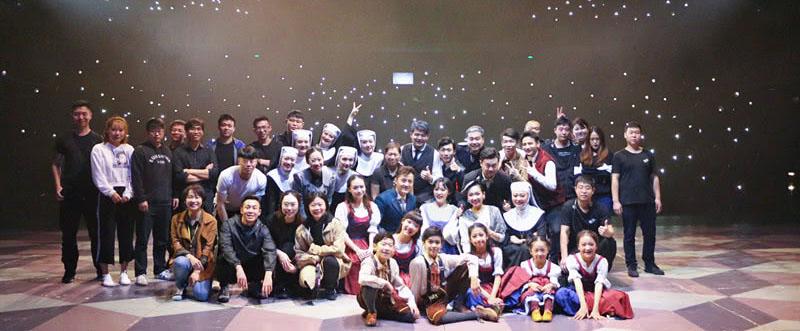 童星sunny上海首演经典音乐剧《音乐之声》