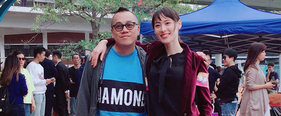彭浩翔梁洛施12年后再合作贺岁喜剧《恭喜八婆》