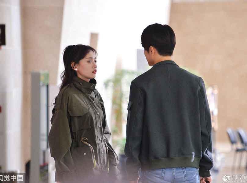 黄婷婷新戏与陈学冬上演最萌身高差