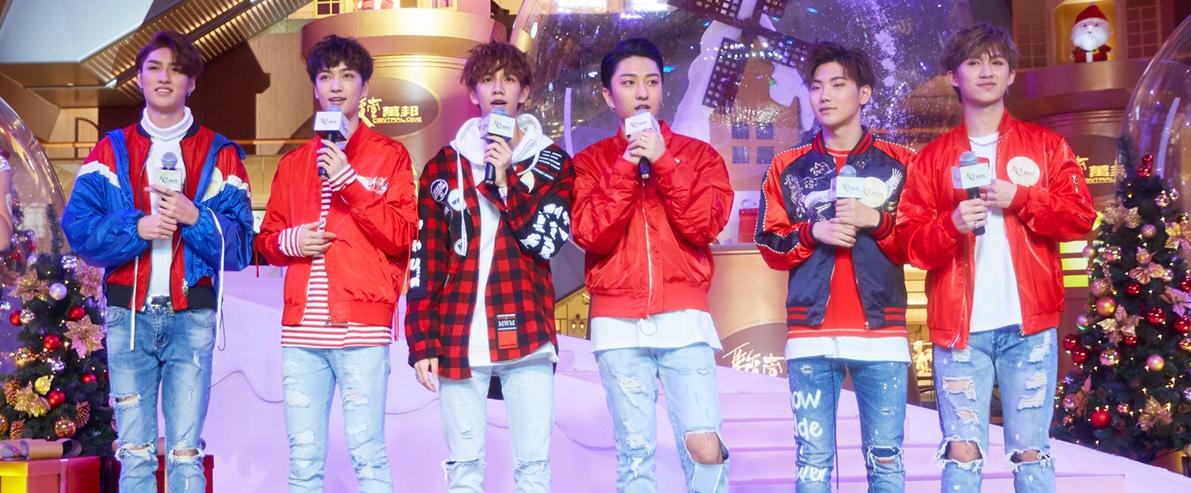 C.T.O男团点亮圣诞 粉丝台上大跳代表作