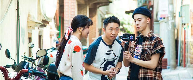 《快乐哆唻咪》杨迪搭档舞蹈博主 复古舞展厦门风情