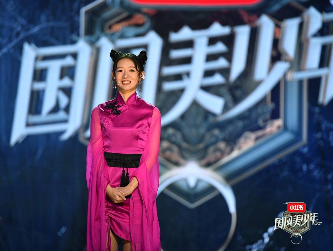 刘木子亮相《国风美少年》首秀进黄金班