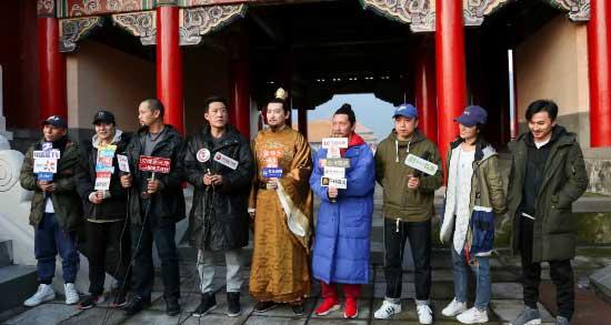 """《豹子头林冲》探班 于震被曝连淋三天夜雨""""敬业担当"""""""