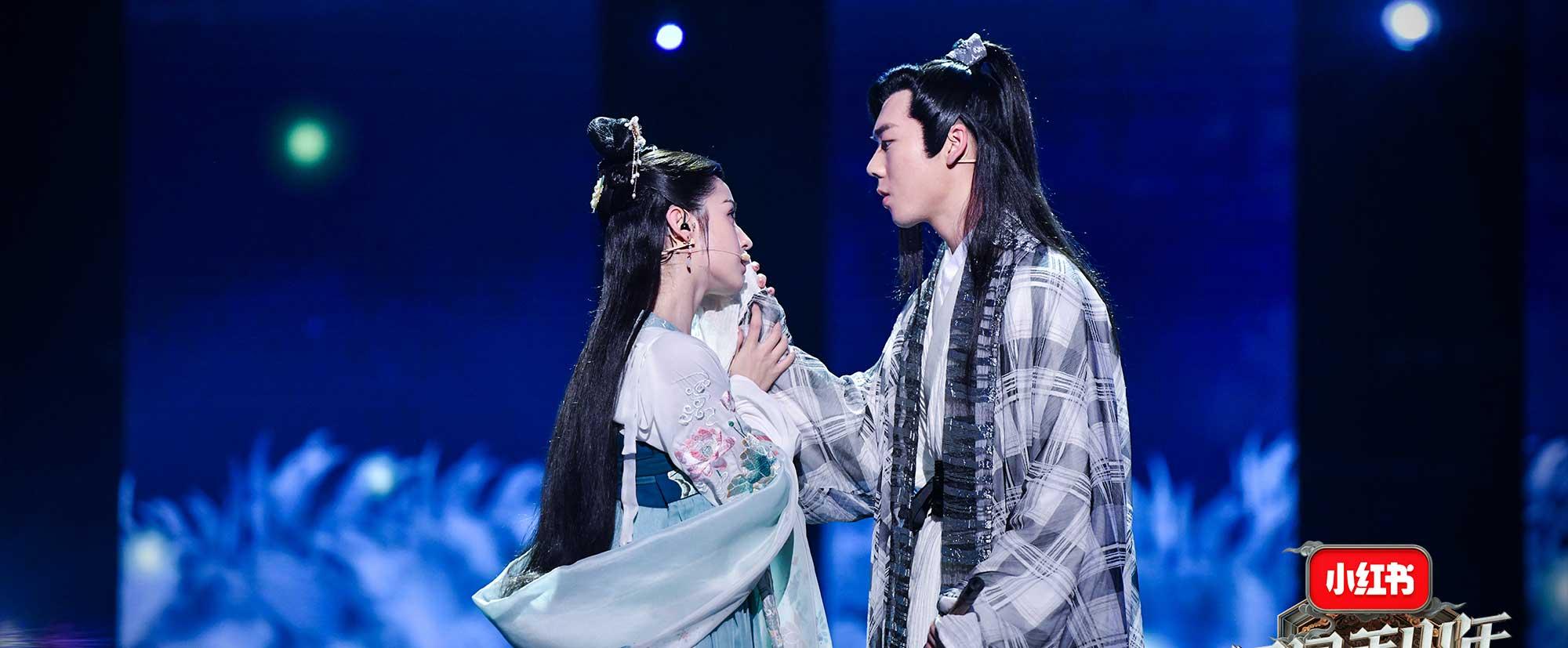 《国风美少年》鞠婧祎展严厉一面吓哭选手