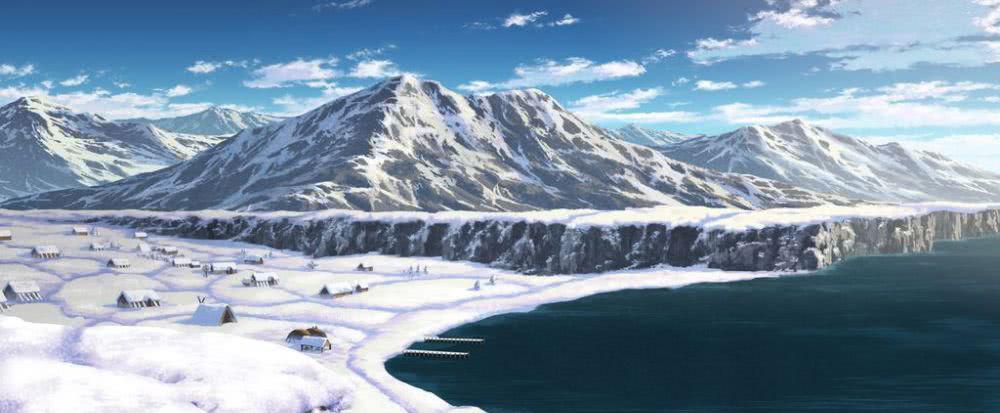 漫改动画《海盗战记》冰岛设定图公开