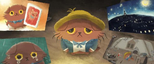 手机游戏《奇喵的画家》将正式电视动画化