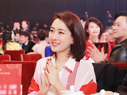 马苏受邀出席百花迎春春节大联欢晚会
