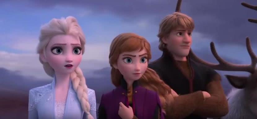 动画电影《冰雪奇缘2》近日公开首支预告