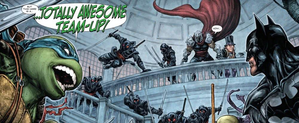 作为大家童年最熟悉的动画角色,蝙蝠侠和忍者神龟竟然要在同一部电影中一较高下了。此前曾经为大家报道过DC和尼克儿童频道宣布将要打造一部《蝙蝠侠大战忍者神龟》动画电影。日前官方公开了电影蓝光碟的详细信息和公开日期。