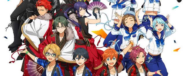 7月7日开播《偶像梦幻祭》主视觉图公开