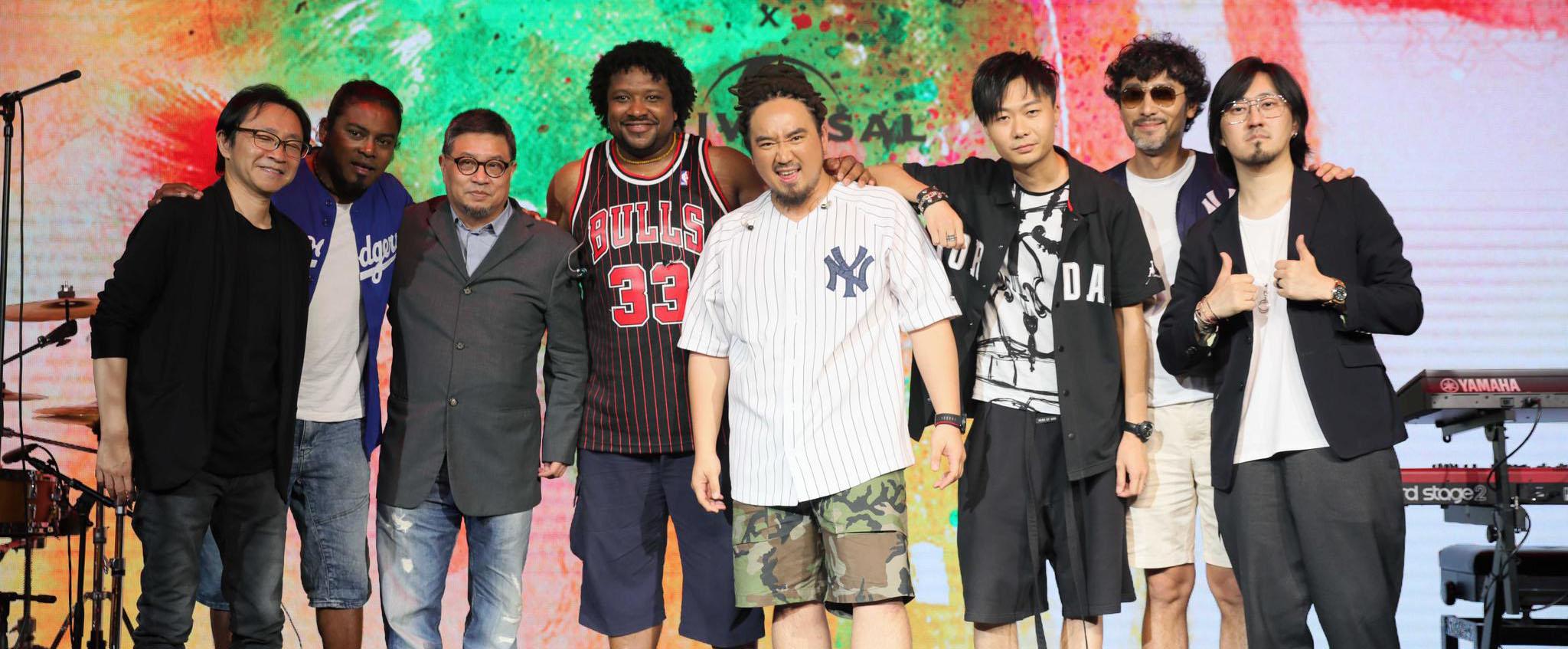 玛斯卡在京举办发布会 正式签约环球音乐