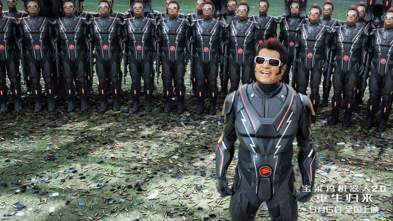 电影《宝莱坞机器人2.0:重生归来》发七弟特辑