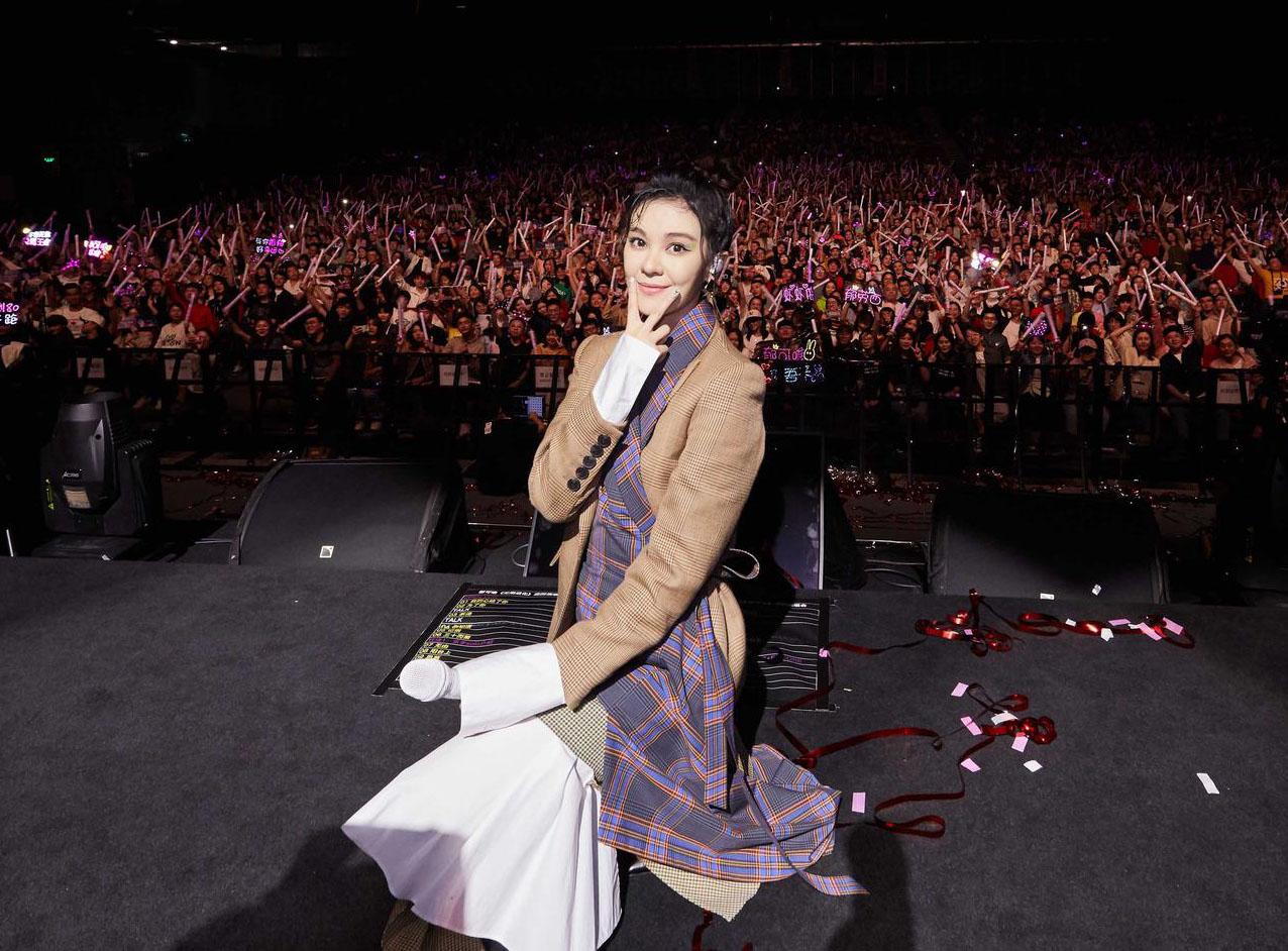 """郁可唯""""无限进化""""上海演唱会十周年纪念场举行"""