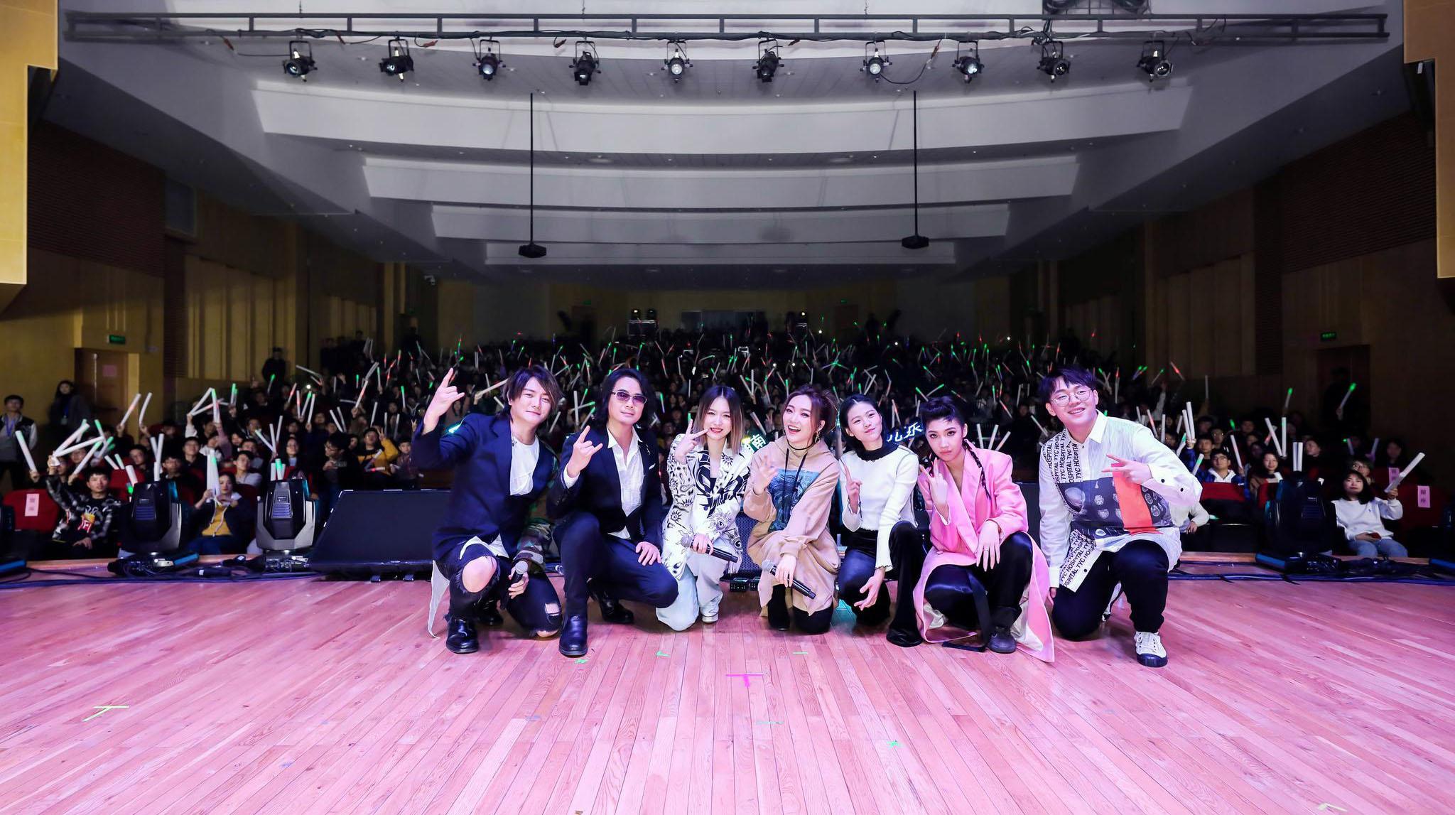 造梦者Live Power2.0校园巡回演唱会南京站落幕
