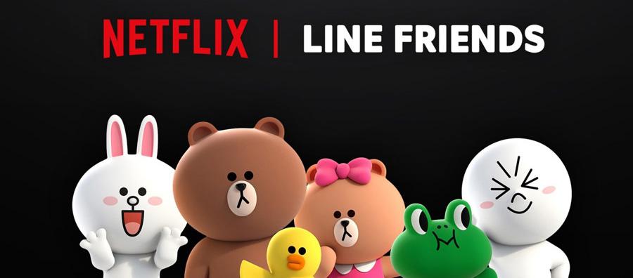 Netflix携手LINE FRIENDS推出原创动画剧集
