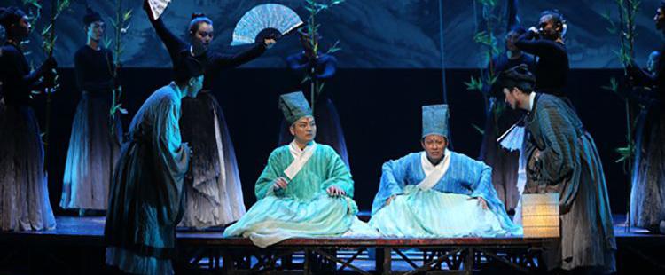 话剧《此心光明》亮相广州郭兰英剧院
