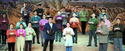 民族歌剧《三把锁》于山西青年宫演艺中心首演