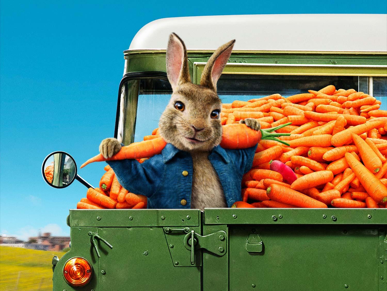 《比得兔2:逃跑计划》曝满载而归海报