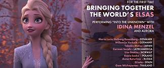 十国歌手相聚奥斯卡 同台演唱《冰雪奇缘2》主题曲