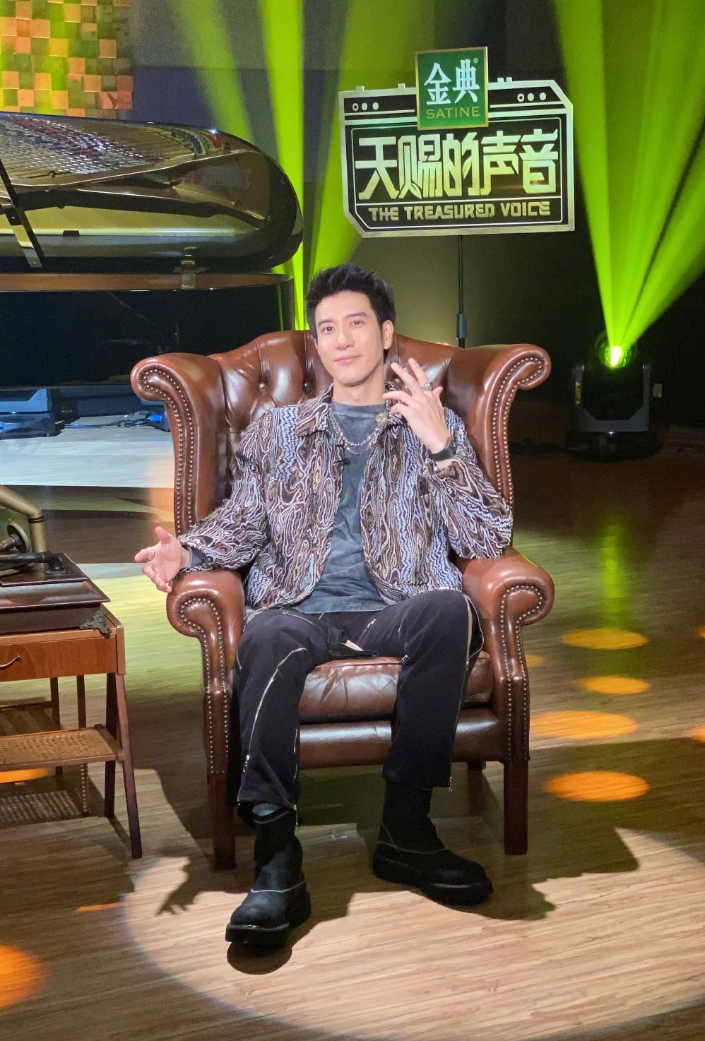 王力宏回归《天赐的声音》助力收视夺冠