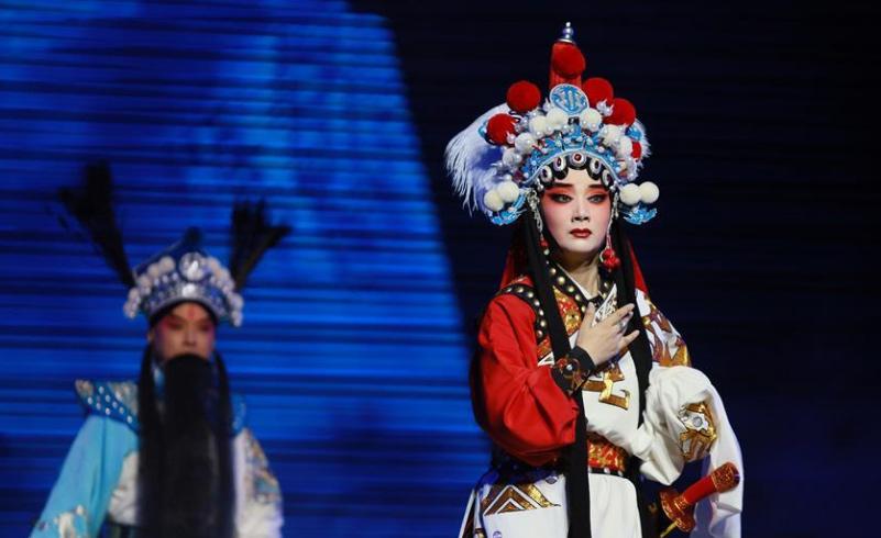 改版京剧《秦良玉》于重庆上演