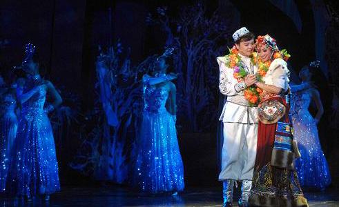 音乐剧《花儿与少年》亮相黄河剧院