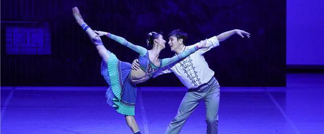 中央芭蕾舞团原创舞剧《花一样开放》全球首演