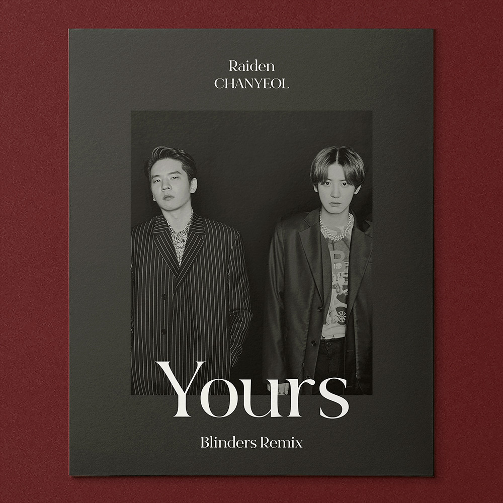 DJ Raiden X CHANYEOL 合作单曲《Yours》公开